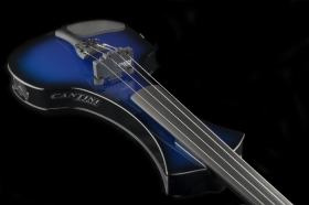 Електрическа цигулка Cantini Sonplus Electric/Midi Violin 4 strings Blue Sunburst