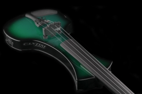 Електрическа цигулка Cantini Sonplus Electric/Midi Violin 4 strings Green Sunburst