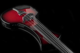 Електрическа цигулка Cantini Electric Sonic Electric/Midi Violin 4 strings Red Sunburst