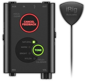 Микрофон за озвучаване на акустична китара IK Multimedia iRig Acoustic Stage