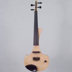 Cantini Earphonic Electric/Midi ViolinNatural Wood