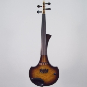 "4 Струнна Електрическа цигулка Cantini Earphonic Electric/Midi Violin ""Occhietto""  Tobacco Burst"