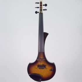 "5 Струнна Електрическа цигулка Cantini Earphonic Electric/Midi Violin ""Occhietto"" Tobacco Burst"